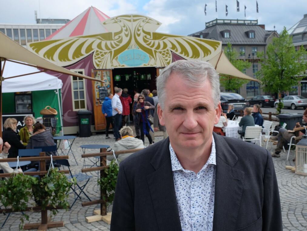 HØY PRESTISJE: Timothy Snyder (49) har en imponerende merittliste som historiker. Han er aktuell med boka «Veien til ufrihet». Foto: Fredrik Wandrup