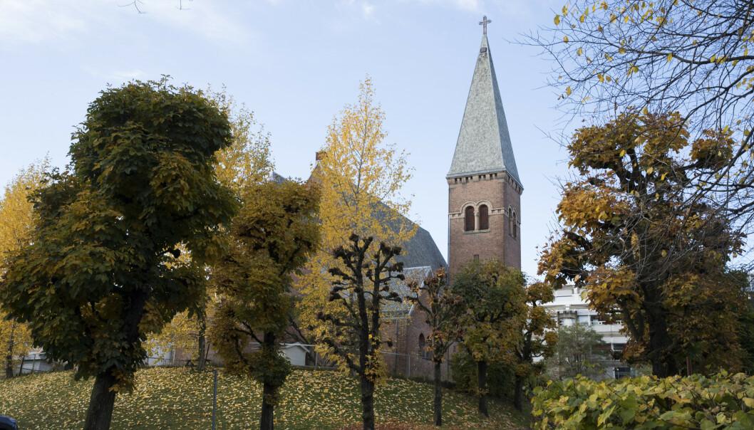 Medlemstallet i Den norske kirke fortsetter å gå ned. 70 prosent av befolkningen er nå medlemmer av folkekirken. Illustrasjonsfoto: Terje Bendiksby / NTB scanpix