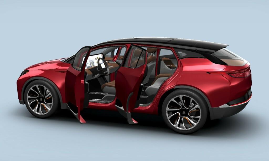 EN FORDEL: Byton drar nytte av å være designet som en elbil fra starten av.