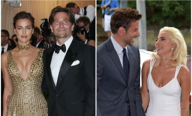 Irina Shayk, Bradley Cooper og Lady Gaga - - - Hun beskyldte ham