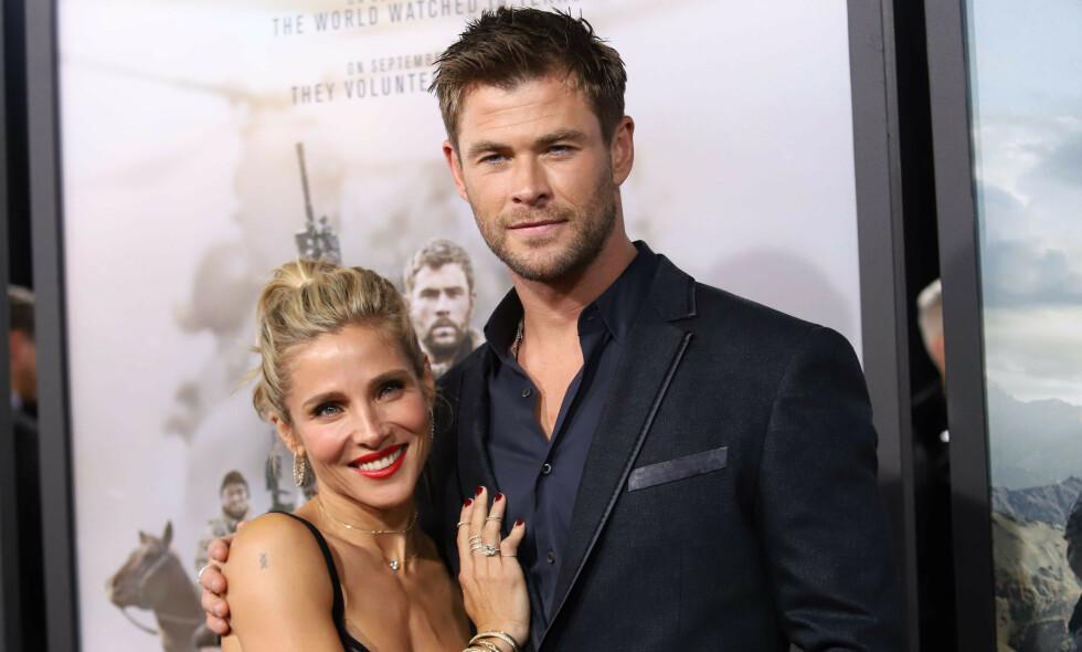 AVSLØRER: Chris Hemsworth er verdensberømt for flere av sine filmroller. Nå avslører han sin første jobb som han kapret som 14-åring. Foto: NTB Scanpix