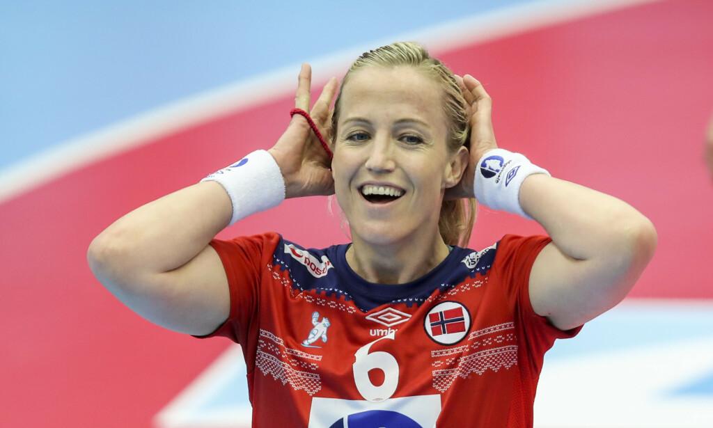 Landslagets Heidi Løke skal spille for Vipers Kristiansand i de to neste sesongene. Foto: Vidar Ruud / NTB scanpix.