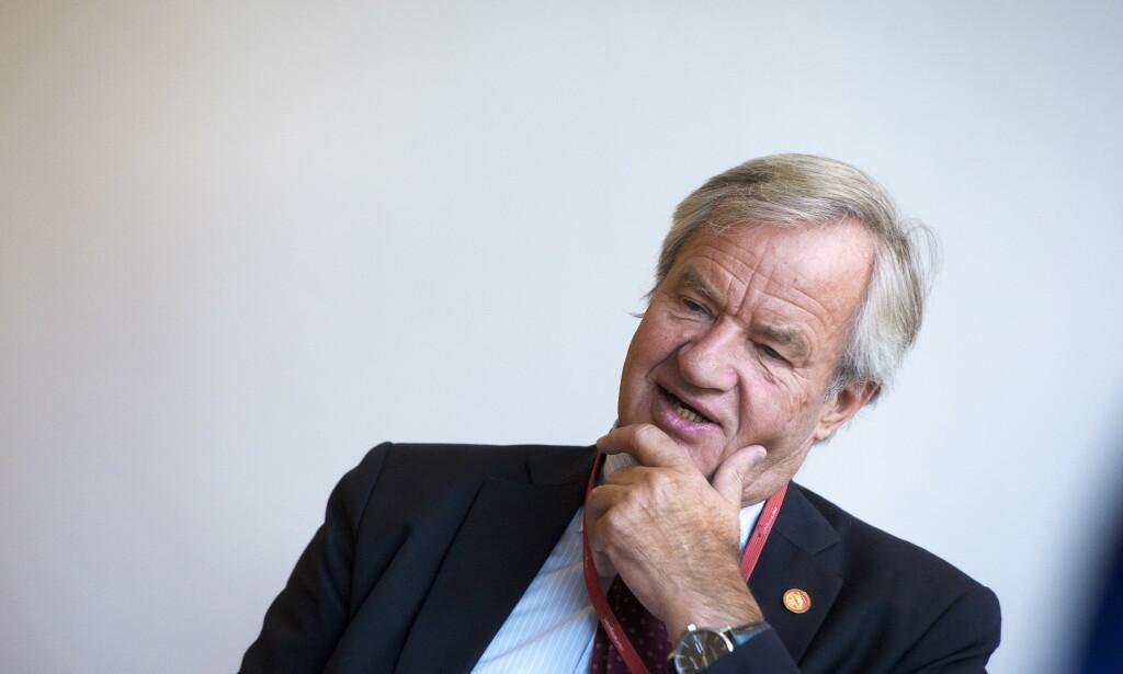 VIL TREKKE SEG TILBAKE: Konsernsjef Bjørn Kjos i flyselskapet Norwegian Air Shuttle. Foto: Arne Hoem / Dagbladet