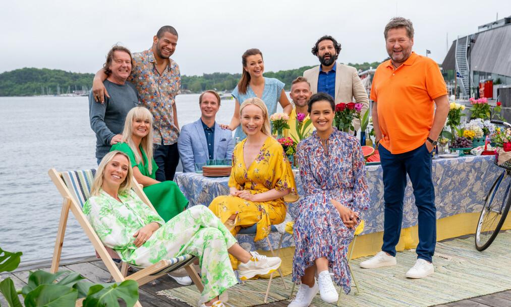 FARGERIK GJENG: Disse tv-profilene skal i sommer lede TV 2-programmet «God Sommer Norge». Foto: Espen Solli / TV 2