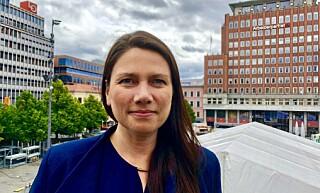 REAGERER: Høyre-politiker Heidi Nordby Lunde. Foto: Gunnar Ringheim