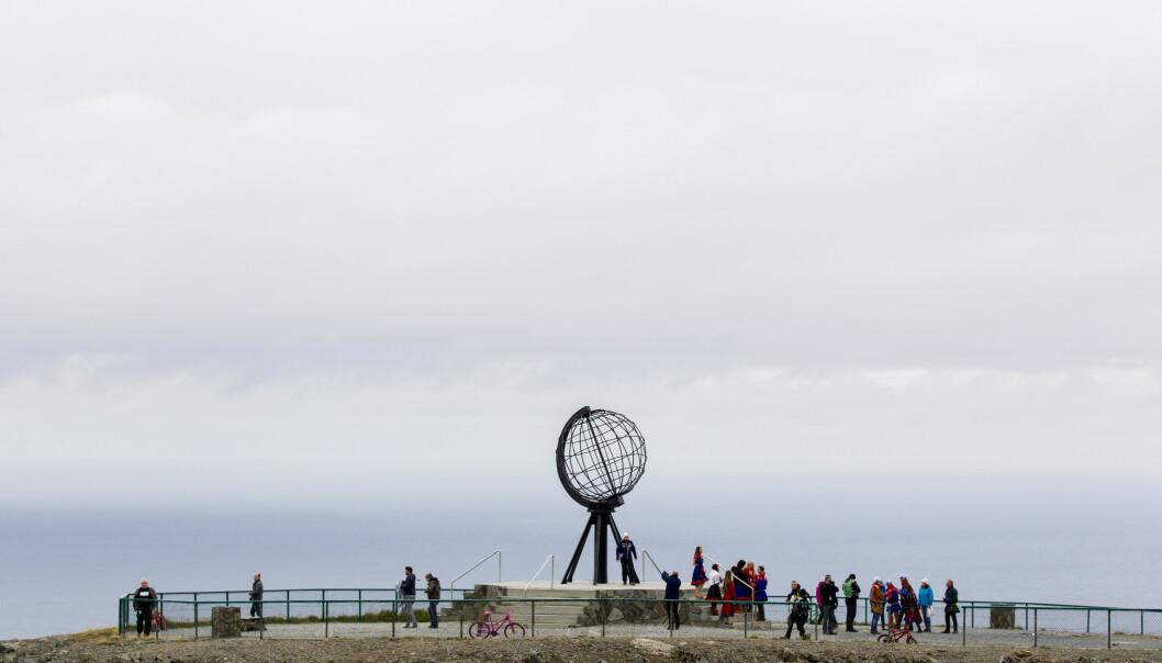 <strong>NORDKAPP:</strong> Turistattraksjonen går en stormfull sommer i møte. . Foto: Vegard Wivestad Grøtt / NTB scanpix