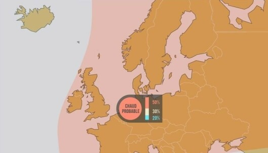 - Går mot unormal varm sommer i Nord-Europa