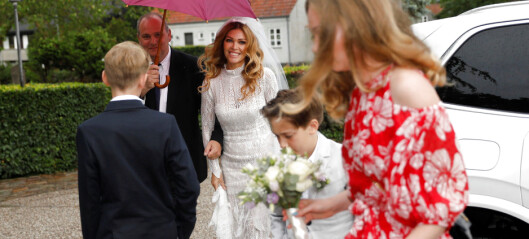 Fotballstjernas bryllup forstyrret av alvorlig redningsaksjon