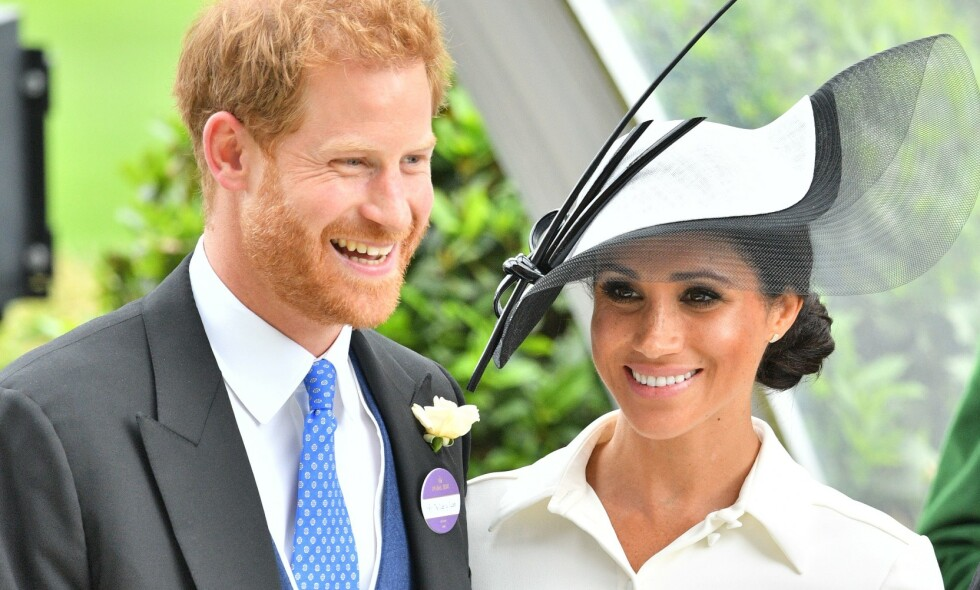 VISER FRAM SØNNEN: Det er nok mange som har ventet på å få se prins Harry og hertuginne Meghans sønn Archie. Nå viser de ham fram. Foto: NTB Scanpix