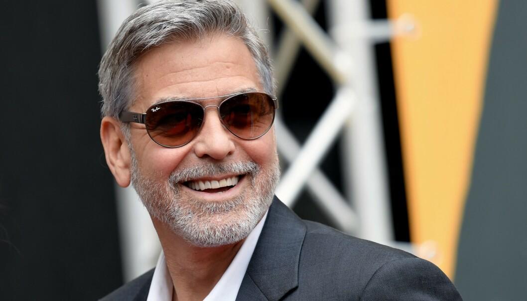 <strong>RETTSSAK:</strong> George Clooney måtte i 2010 vitne i en rettssak i Italia, hvor tre personer sto tiltalt for å ha misbrukt filmstjernas navn i markedsføring. Tre personer ble dømt, men to av dem rømte landet og har levd i skjul - fram til nå. Foto: Tiziana FABI / AFP / NTB Scanpix