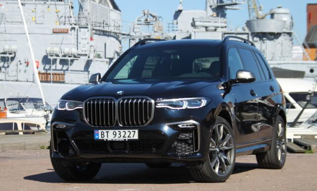 NUMMER 10: BMW X7. Foto: Espen Stensrud