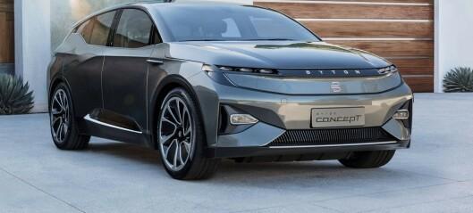 Se de nye elbilene fra Kina