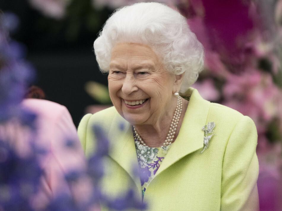 GÅR GLIPP AV DÅPEN: Ifølge en kongehusekspert vil ikke dronning Elizabeth være tilstede under dåpen til Archie Harrison Windsor. FOTO: NTB Scanpix