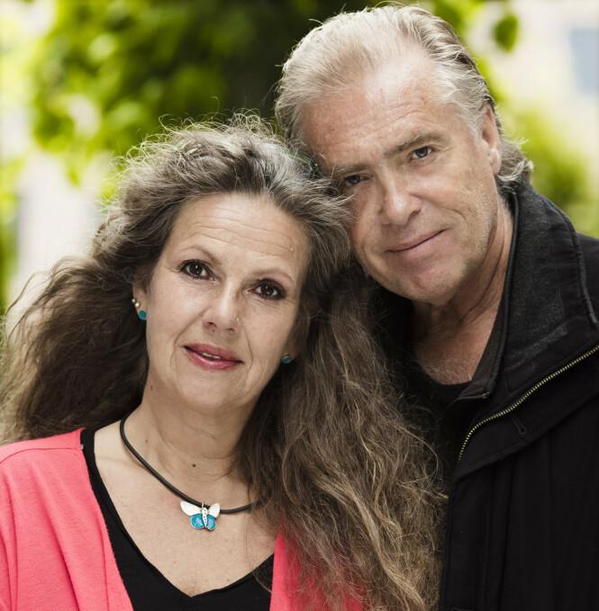 TERAPI: Kjæresteparet Line og Arne sier til KK at de har brukt mye tid på å snakke sammen om det de opplevde under terrorangrepet for nå elleve år siden, og at det har hjulpet dem i den mentale prosessen for å bearbeide påkjenningen de ble utsatt for. FOTO: Astrid Waller
