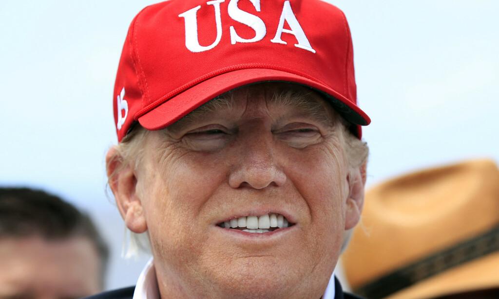 Tirsdag kveld kunngjør USAs president Donald Trump offisielt at han stiller til gjenvalg ved presidentvalget i 2020. Det skjer i Orlando i Florida. Hele 29 valgmannstemmer står på spill i delstaten, som kan avgjøre presidentens politiske framtid. Foto: Manuel Balce Ceneta / AP / NTB scanpix