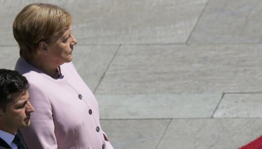 Skjelven Merkel vekker oppsikt