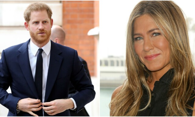 470c1774 Prins Harry og Jennifer Aniston - - - Han sendte henne flere ...