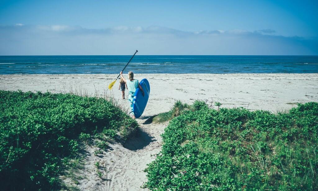 SOL OG SAND: I Halland får du milevis med de vakreste strender. Foto: Philip Liljenberg