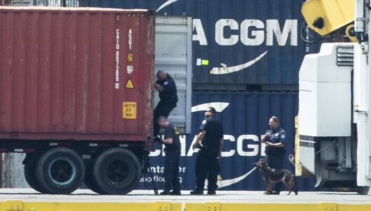 USA: Fant kokain verdt nær ni milliarder på lasteskip