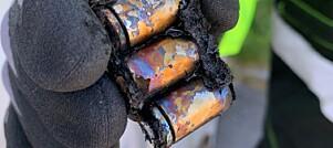 Batterier kan være rene brannfeller