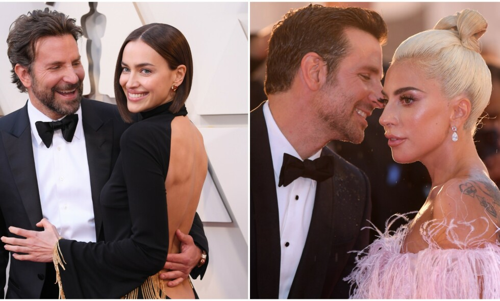 TURBULENT: Etter bruddet mellom Irina Shayk og Bradley Cooper har det blitt heftig diskutert om Lady Gaga kan være en av årsakene til bruddet. Foto: NTB scanpix