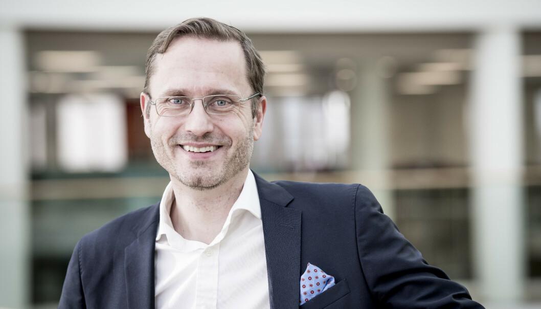 <strong>STØTTESPILLER:</strong> Snorre Storset, direktør i Nordea Norge.