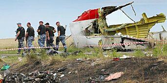 image: Fire personer siktet for MH17-nedskytingen i 2014