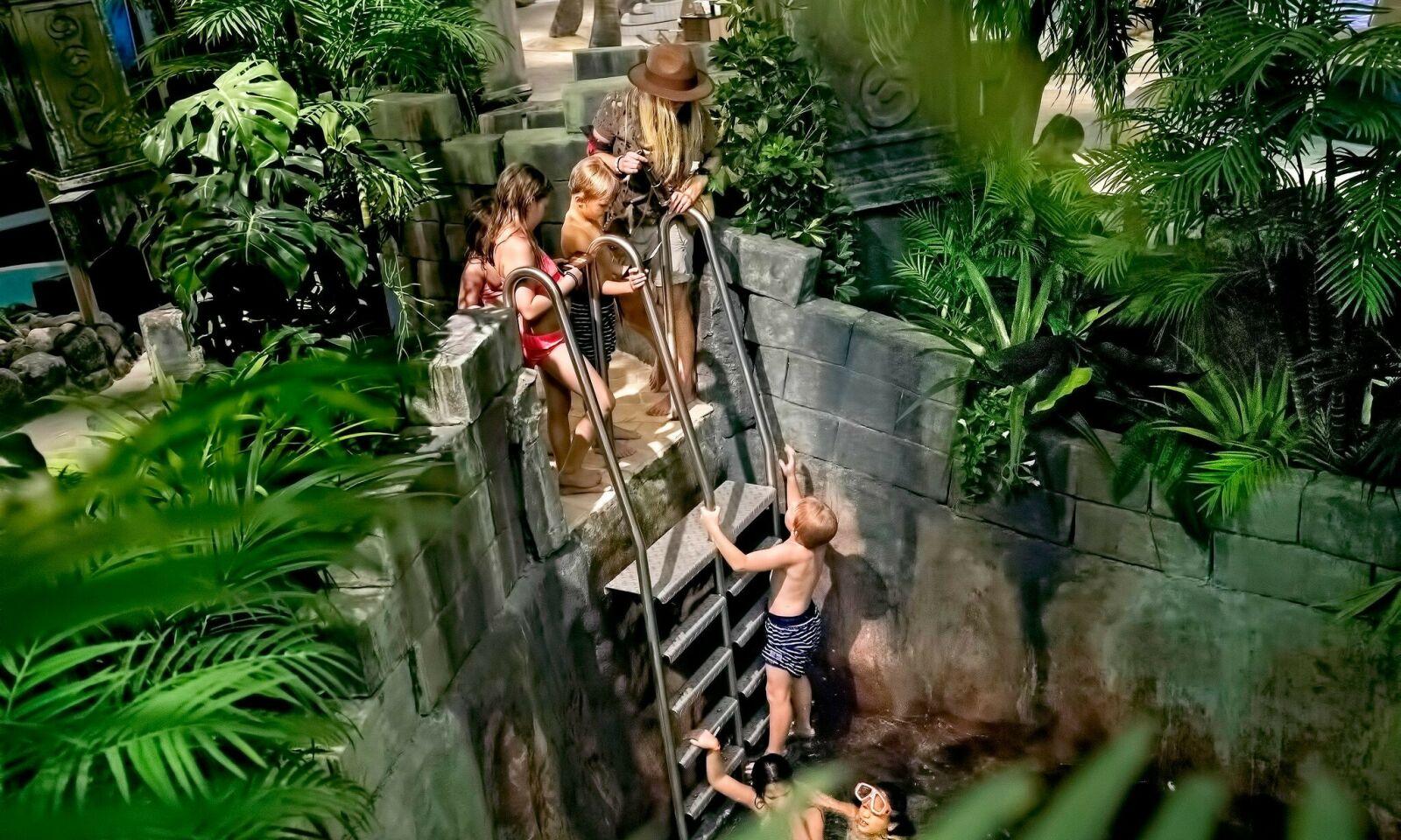 JUNGELEVENTYR: Dette magiske badeeventyret venter på deg.