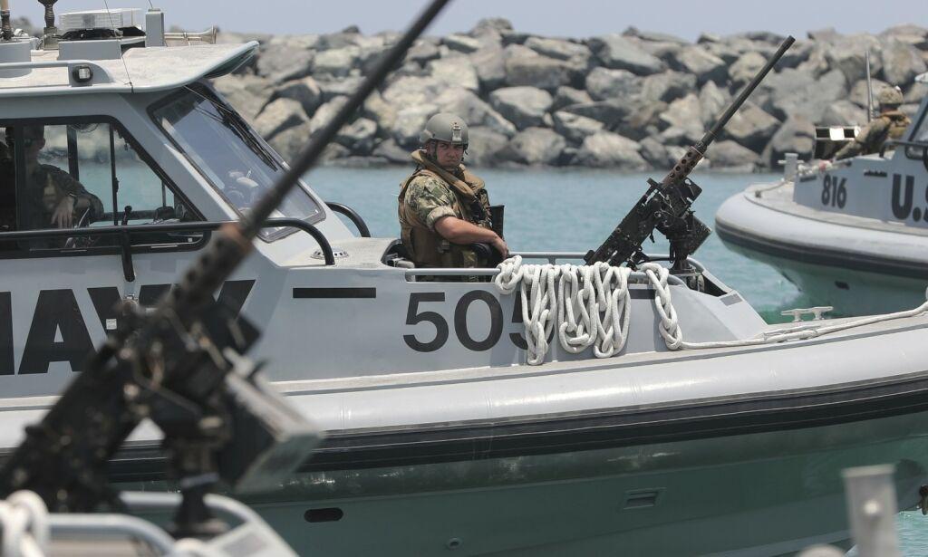 image: USA: Irans nedskyting av drone var et uprovosert angrep