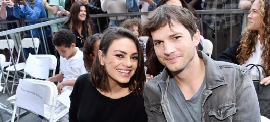 Ashton Kutcher om bruddrykter: - Er det over, Mila?