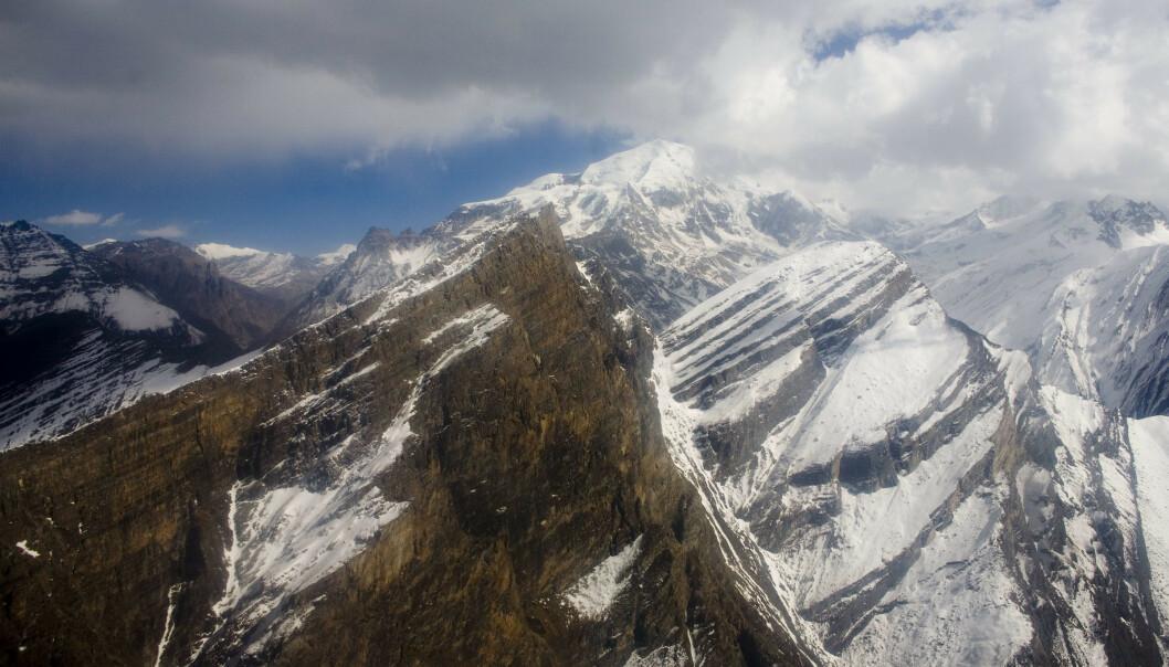 De store isbreene i Himalaya smelter dobbelt så fort som for 20 år siden, viser satellittbilder som nylig er gjort tilgjengelige. Foto: NTB scanpix