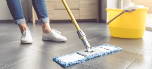 Slik mener ekspertene at gulvet bør vaskes
