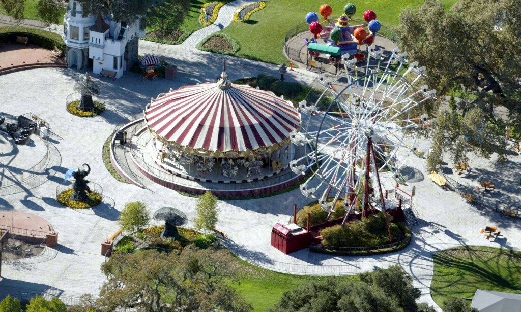 CAN BE HAPPENED ?: The Ferris wheel and carousels of the ranch have been sold to other tivoli. Photo: Stuart Cook / REX / NTB Scanpix