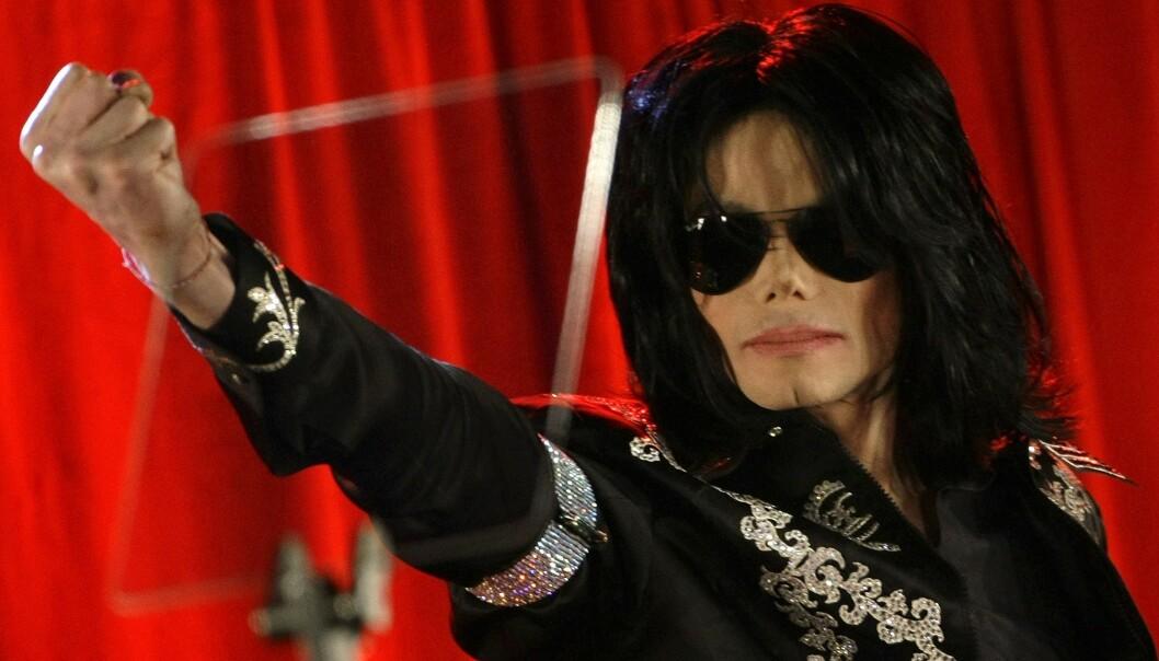 <strong>BLE 50 ÅR:</strong> Michael Jackson fotografert like før han døde. 25. juni 2019 er det ti år siden popikonet døde. Foto: NTB scanpix
