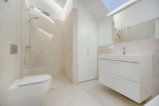 LYST OG BEHAGELIG: Materialer som gir spafølelse slår ekstra godt an blant boligkjøpere. Foto: Vecislavas Popa