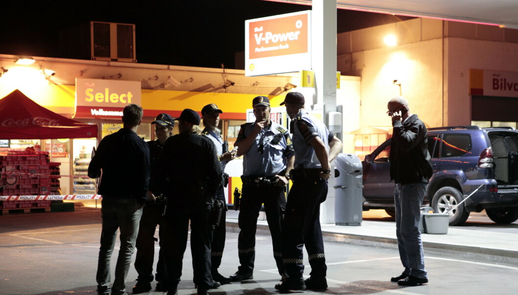 Borgarting lagmannsrett har frifunnet en av de fire mennene som ble dømt etter drapet på en norskpakistaner på en bensinstasjon på Ensjø i Oslo i august 2012. Foto: Cornelius Poppe / NTB scanpix