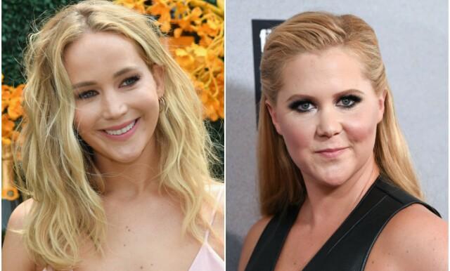 3a3dc526 VENNINNER: Jennifer Lawrence og Amy Schumer har vært nære venninner i flere  år. Etter