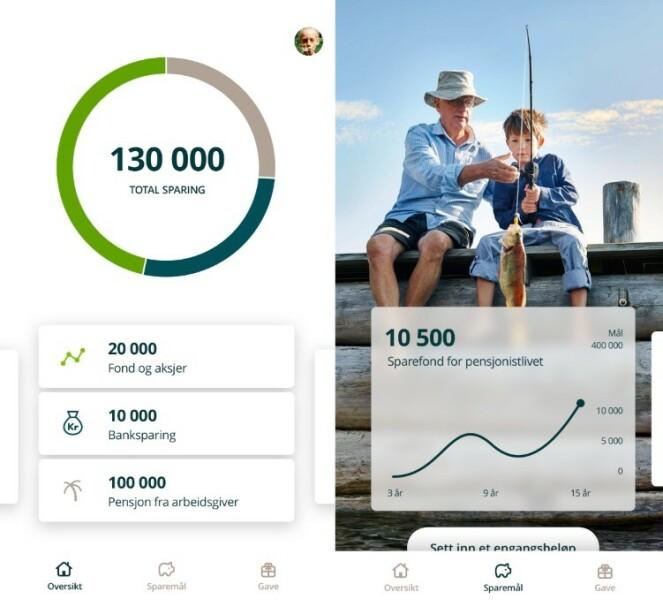 <strong>SMARTSPAR:</strong> Smartspar en den fjerde appen du kan prøve ut for å spare bedre. Foto: Hentet fra Google Play, Smartspar.