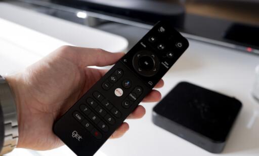 Get BoX-ens fjernkontroll er kjedelig, men har også noen nye funksjoner. Foto: Martin Kynningsrud Størbu