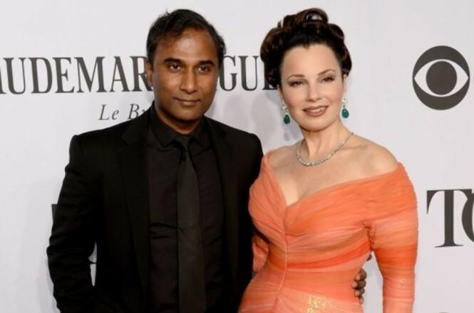 SKILT: I 2016 ble det kjent at Fran Drescher og Shiva Ayyadurai skulle skilles etter to år som ektefeller. Foto: Getty Images
