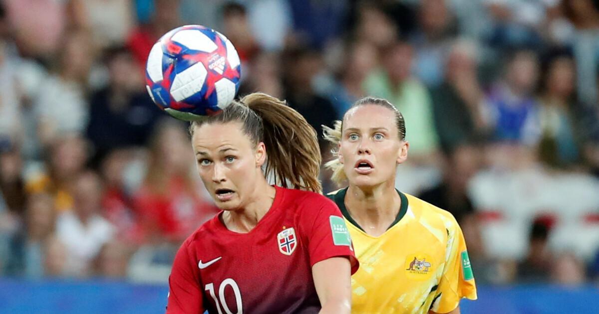 3eb7f6f1 Fotball-VM for kvinner 2019: Børs - Børsen: Hun var Norges beste - Dagbladet