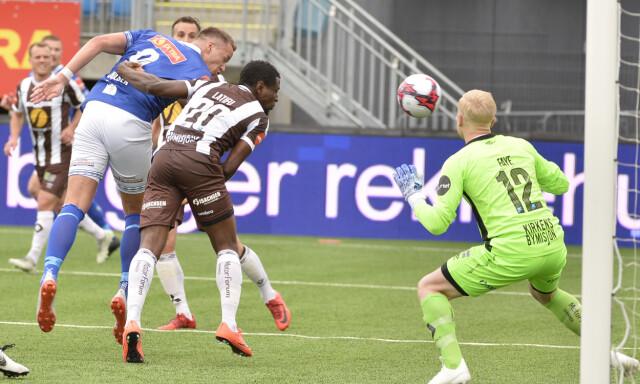ad075907 Eliteserien. Fjerde strake uavgjorte mellom Ranheim og Mjøndalen i Trondheim