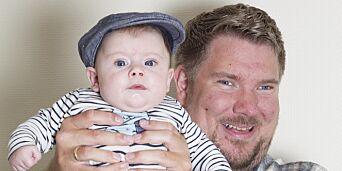 image: - Nyter synet av sønnen så lenge jeg kan