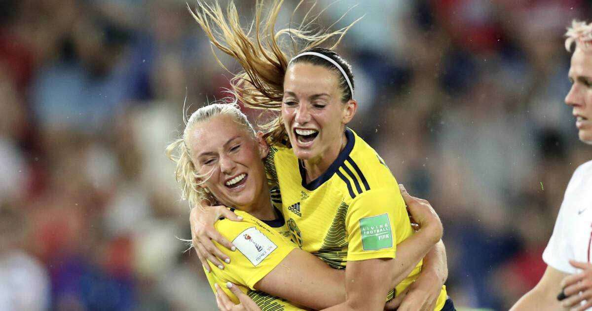 ac17afbc7 Fotball-VM for kvinner 2019 - Sverige videre i VM etter nytt VAR ...