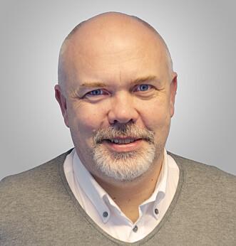 <strong>TRE GRUPPER:</strong> Ivar Kjærem forteller at godt voksne kan deles inn i tre grupper når det kommer til databruk. Foto: NorSIS.