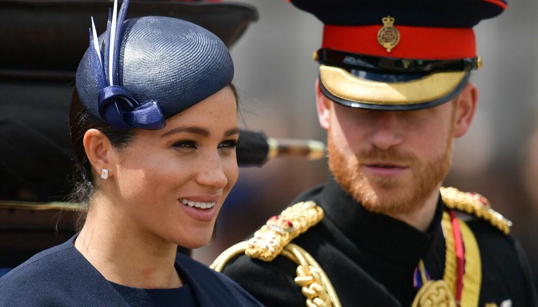 Offentlige regnskaper fra det britiske kongehuset viser at prins Harry og hertuginne Meghan brukte 25 millioner kroner på å pusse opp huset sitt i Windsor. Foto: Daniel LEAL-OLIVAS / AFP / NTB scanpix)