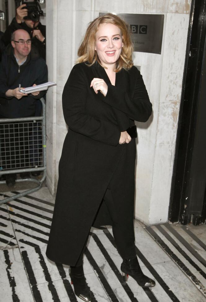 2015: Mange har påpekt at Adele har forandret seg den siste tiden. Her er hun avbildet i 2015. Foto: NTB Scanpix
