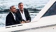 Obama-familien på hemmelig luksusferie hos George Clooney