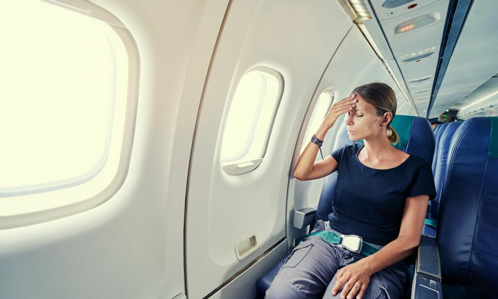 FLYANGST: Svært mange nordmenn har flyskrekk. Heldigvis finnes det gode råd, slik at man kan takle angsten. Foto: NTB Scanpix