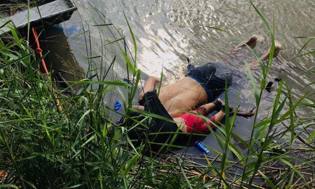 image: Far og datter (2) druknet ved grensa